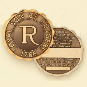 Custom College/University Coin Medallion – Alumni Design #7025