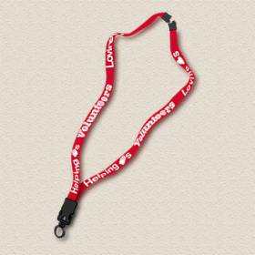 Stock Lanyard – Loving Hearts Design #D904